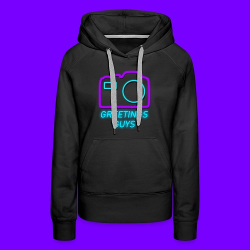 GREETINGS MERCH! - Women's Premium Hoodie
