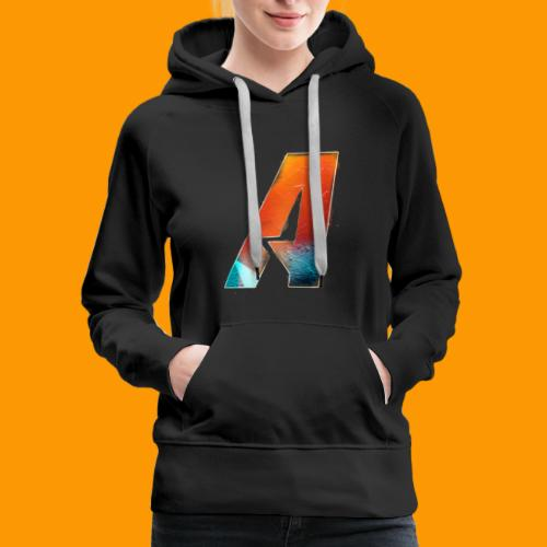 Acombative Multi colored logo - Women's Premium Hoodie