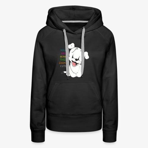 Pudgy the Pup - Women's Premium Hoodie