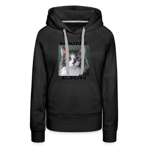 Maine Coon Cat - Women's Premium Hoodie