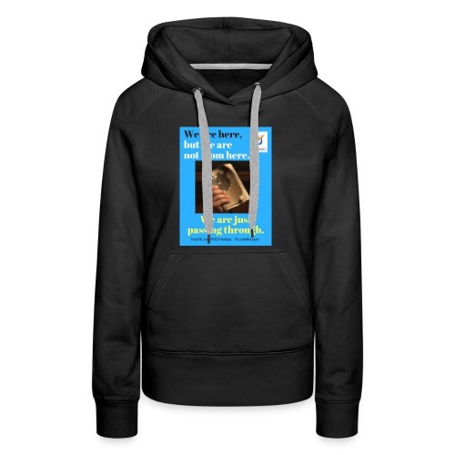 We are here POCC Pentecostals - Women's Premium Hoodie