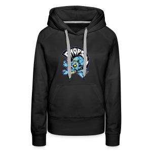 punk skull - Women's Premium Hoodie