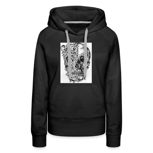 skull of madness - Women's Premium Hoodie
