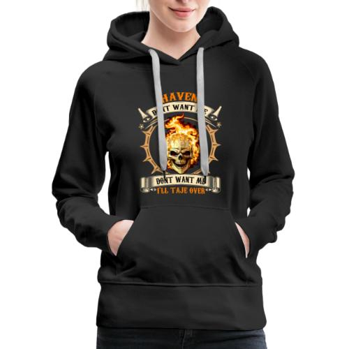 DONT WANT ME - Women's Premium Hoodie