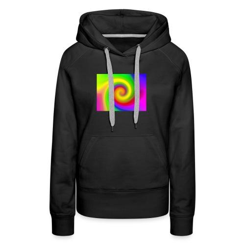 color swirl - Women's Premium Hoodie