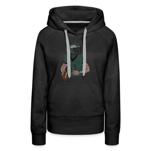 Carson Wentz Eagles Typography Shirt - Women's Premium Hoodie