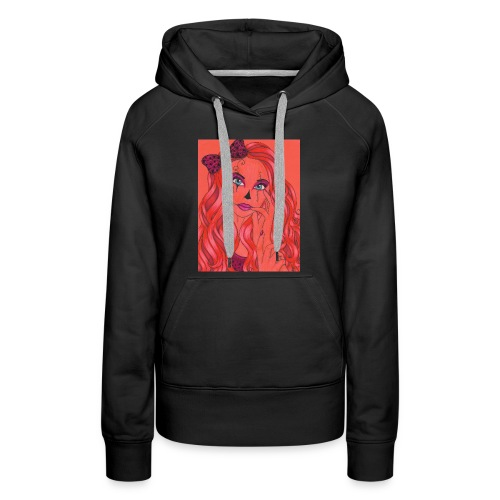 lady of the night - Women's Premium Hoodie