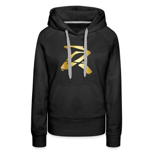 Rizz R Logo GOLD - Women's Premium Hoodie