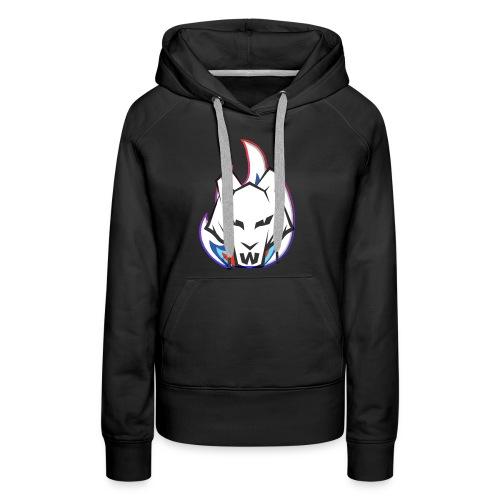 Wolf Flame - Women's Premium Hoodie
