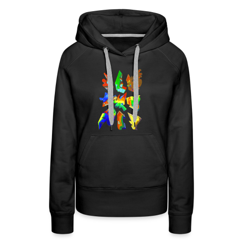 Abstract by Gumdrop - Women's Premium Hoodie