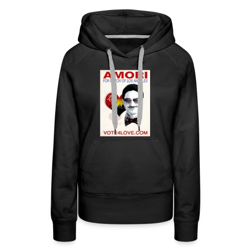 Amori for Mayor of Los Angeles eco friendly shirt - Women's Premium Hoodie