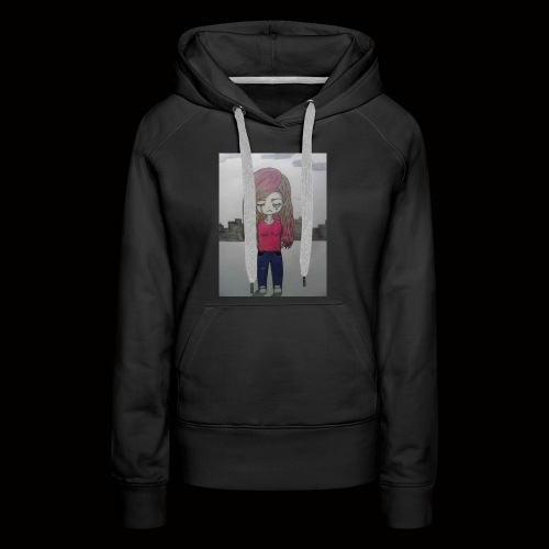Heart break and loneliness - Women's Premium Hoodie