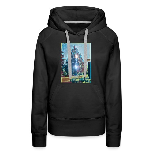 Save the present for better future - Women's Premium Hoodie