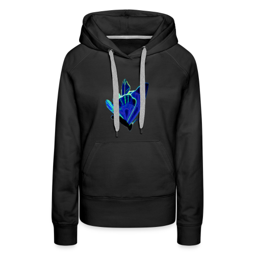 Blue Butterflys Are Not Free - Women's Premium Hoodie