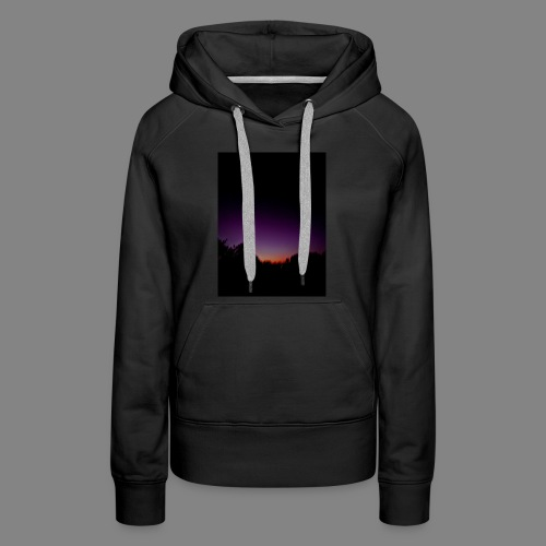 purple sunrise - Women's Premium Hoodie