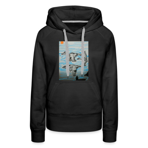 Birds in Formation - Women's Premium Hoodie