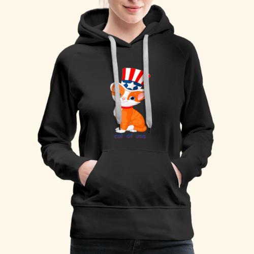 cat of usa - Women's Premium Hoodie
