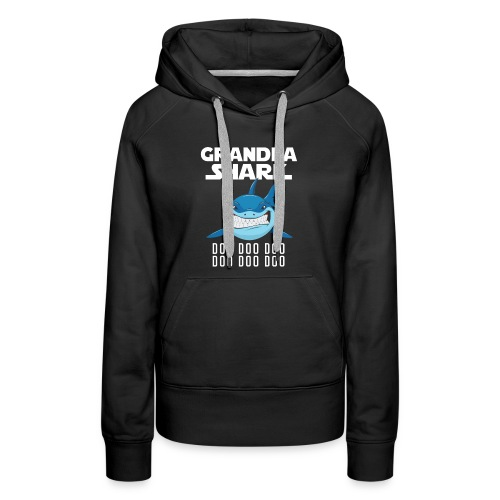 Grandpa Shark T-shirt - Women's Premium Hoodie