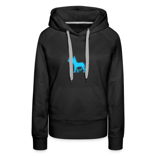 The Diamond Rhino - Women's Premium Hoodie