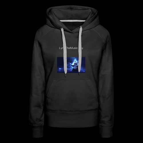"""LyricTheMusic Sky"" MERCH - Women's Premium Hoodie"