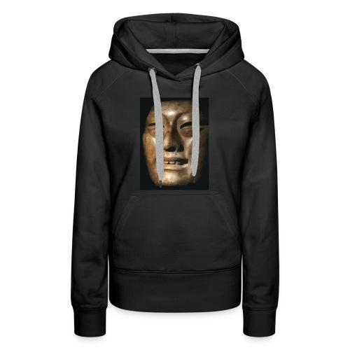 Mask of Olmec Asiatic - Women's Premium Hoodie