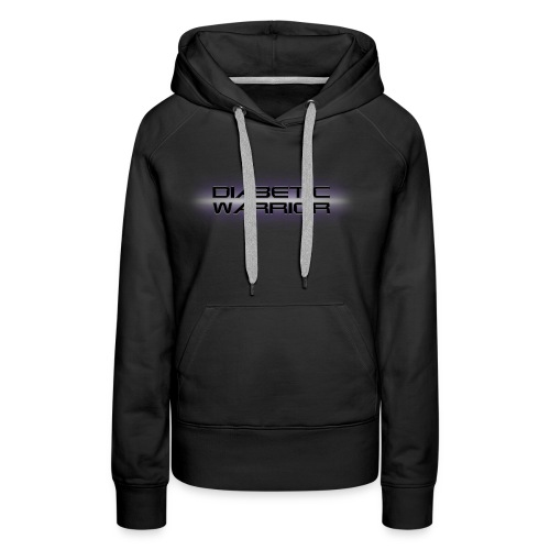 Diabetic Warrior In Space - Women's Premium Hoodie
