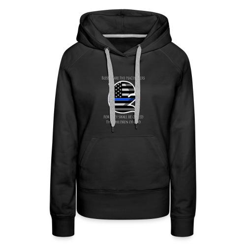 Thin Blue Line - Women's Premium Hoodie