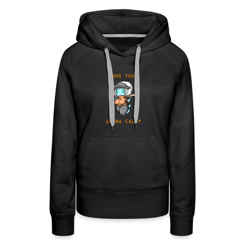 Pizza Deliver Ghost Mom - Women's Premium Hoodie