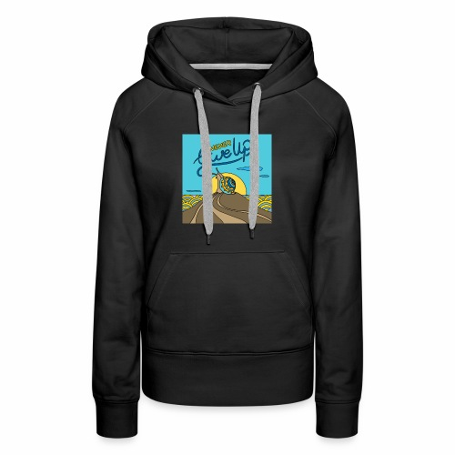 Never Give Up - Women's Premium Hoodie