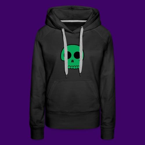 Green Skull - Women's Premium Hoodie