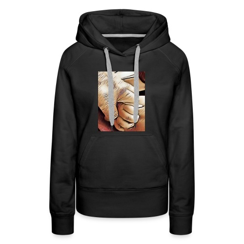 In time of need I'll hold your hand - Women's Premium Hoodie