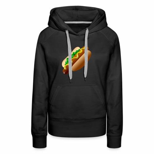 Just a Hot Dog Shirt - Women's Premium Hoodie