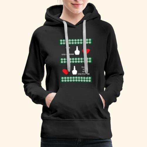 christmas sweater - Women's Premium Hoodie