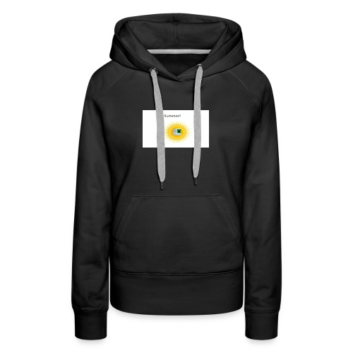 Mathify summer design - Women's Premium Hoodie
