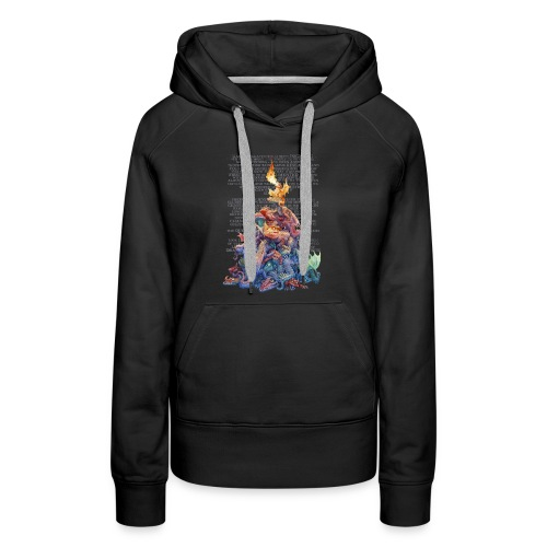 Answer to the Question Dragons - Women's Premium Hoodie