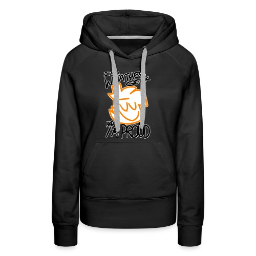I'm A Weather Geek Week And I'm Proud - Women's Premium Hoodie