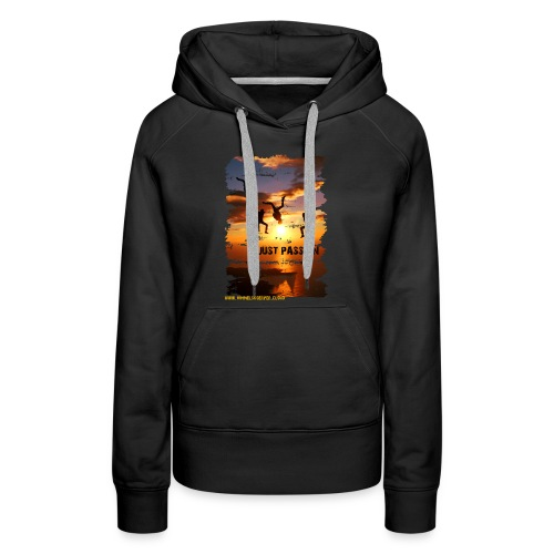 JUST PASSION - Women's Premium Hoodie