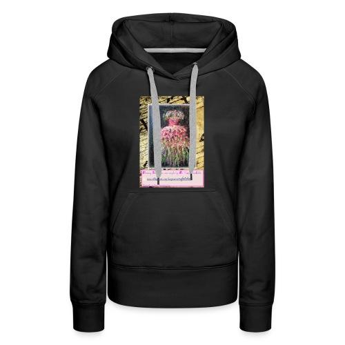 Flowery Gown - Women's Premium Hoodie