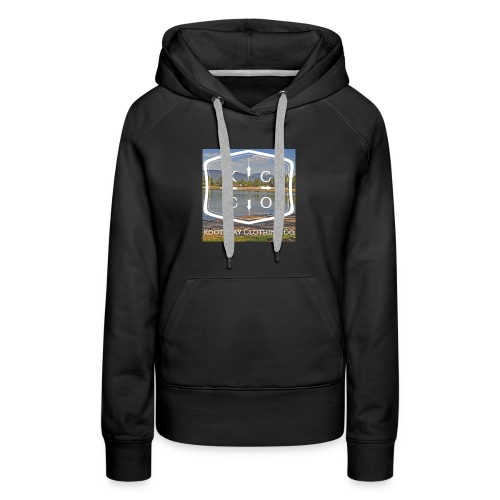 Kootenay Clothing Co Logo Wear - Women's Premium Hoodie