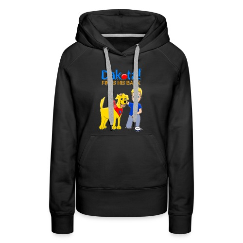 Dakota! Finds His Bark Toddler and Babies - Women's Premium Hoodie