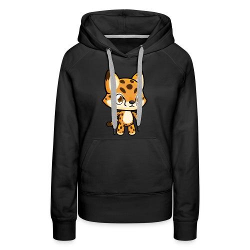 Cheetah Idle - Women's Premium Hoodie