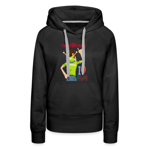 Father and son - Women's Premium Hoodie
