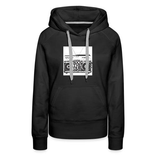 rockthedub.com logo - Women's Premium Hoodie