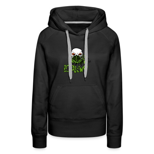 Leaking Gas Mask - Women's Premium Hoodie