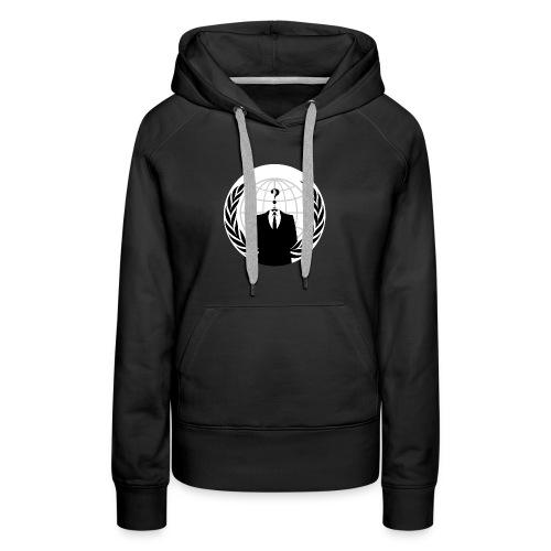 Anonymous Hacker - Women's Premium Hoodie