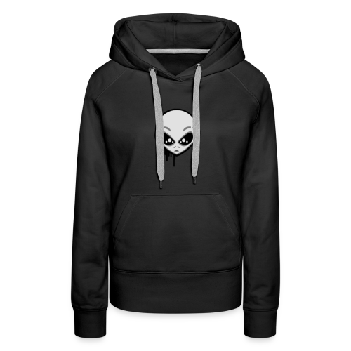 Martians From Mars Logo - Women's Premium Hoodie