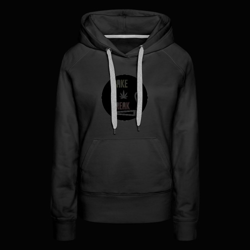 Bake Break Logo Cutout - Women's Premium Hoodie
