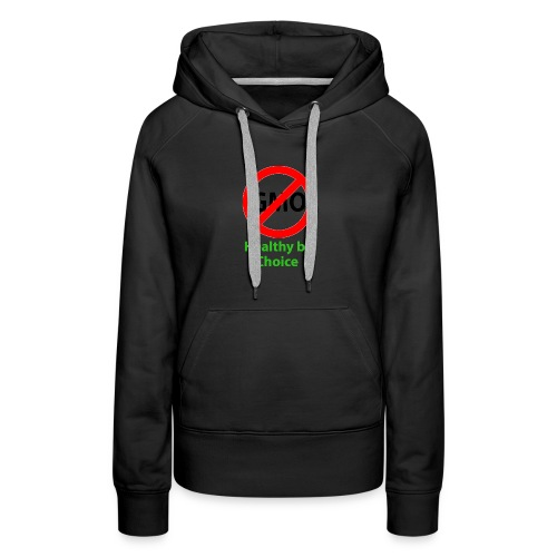 healthy by choice1 - Women's Premium Hoodie