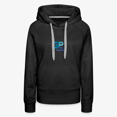 Stay powerful LOGO - Women's Premium Hoodie