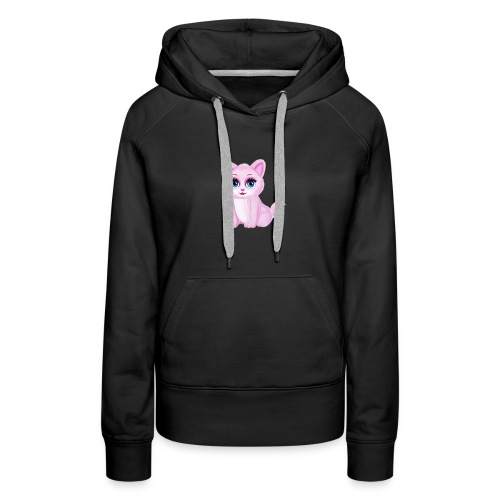Cute Kitty Cat - Women's Premium Hoodie